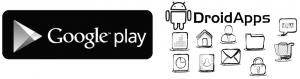 Google-Play symbol und Apps